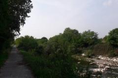 Lungo gli argini del fiume Mella