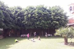 Pausa pranzo al Santuario di Pumenengo (BG)