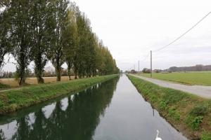 [2018.11.04] Lungo il Canale Vacchelli da Soncino (CR) a Crema (CR)