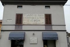 Un segno fascista a Corte de Cortesi (CR)