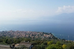 Punto panoramico ad Albisano (VR)