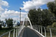 Ponte in ferro ciclabile - Crema