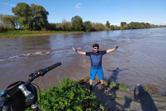 Confluenza fiume Adda - Po