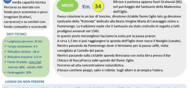 [10] Parco Oglio Nord – Orzinuovi (BS) > Pumenengo (CR)