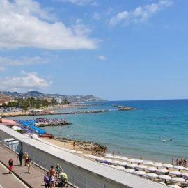 """Pista Ciclabile della Riviera Ligure """"Ciclabile dei Fiori"""""""