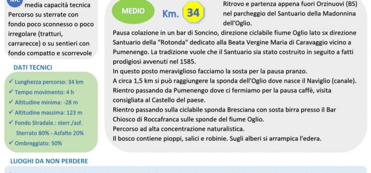 [03] Parco Oglio Nord – Orzinuovi (BS) > Pumenengo (BG)