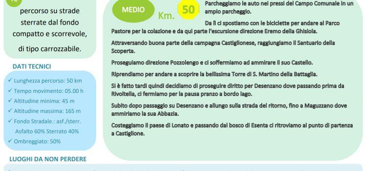 """[28] Colline Moreniche del Garda """"Castiglione d/s > Desenzano"""""""