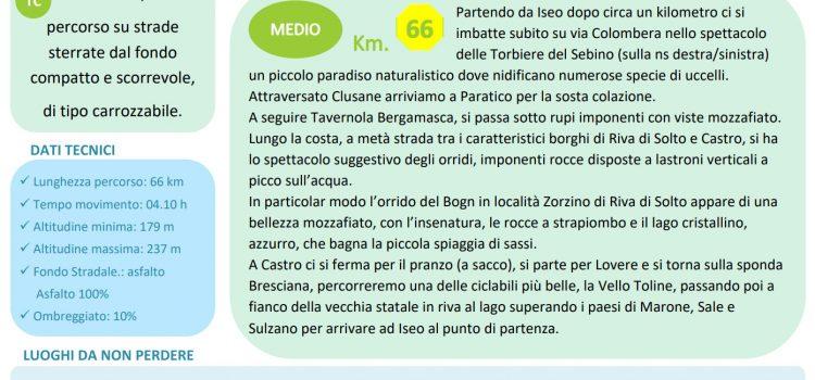 [23] Giro del LAGO di ISEO