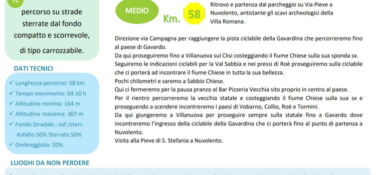 [25] Lungo il Fiume Chiese – Nuvolento (BS) > Sabbio Chiese (BS)