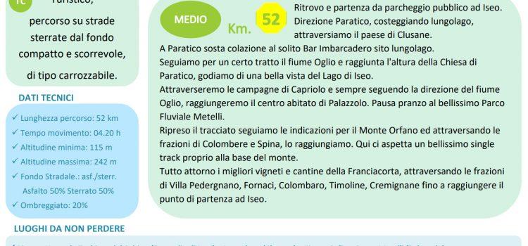 [16] FRANCIACORTA Percorso nr. 03 Verde